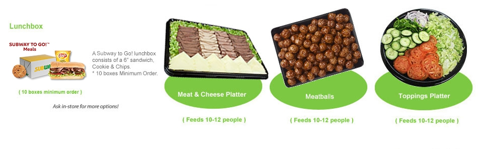 Lunchboxes and Specialty Platters